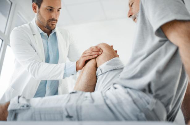 oteklo koleno-kdaj k zdravniku